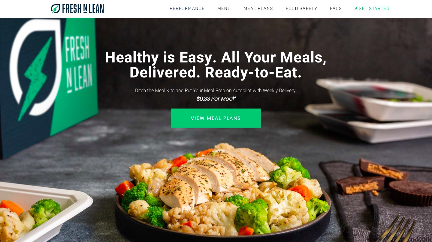 Fresh n`Lean main page