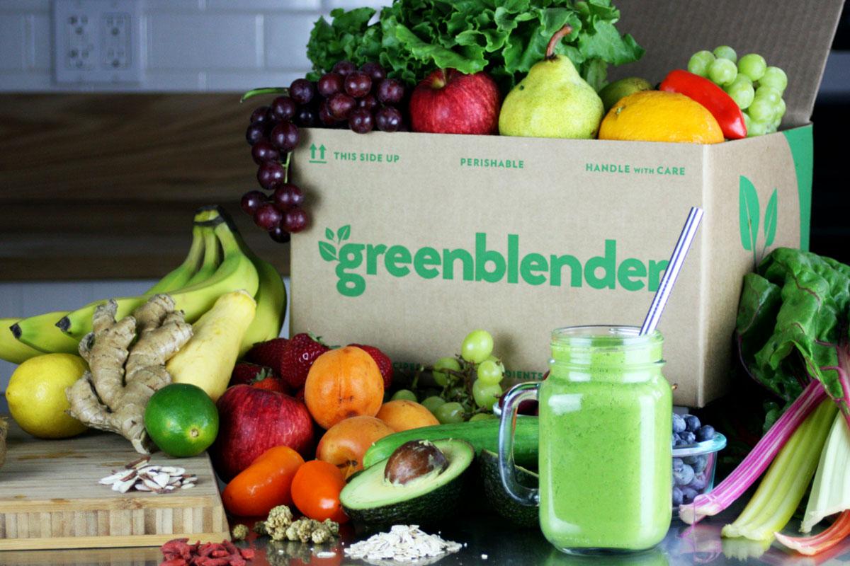 greenblender box