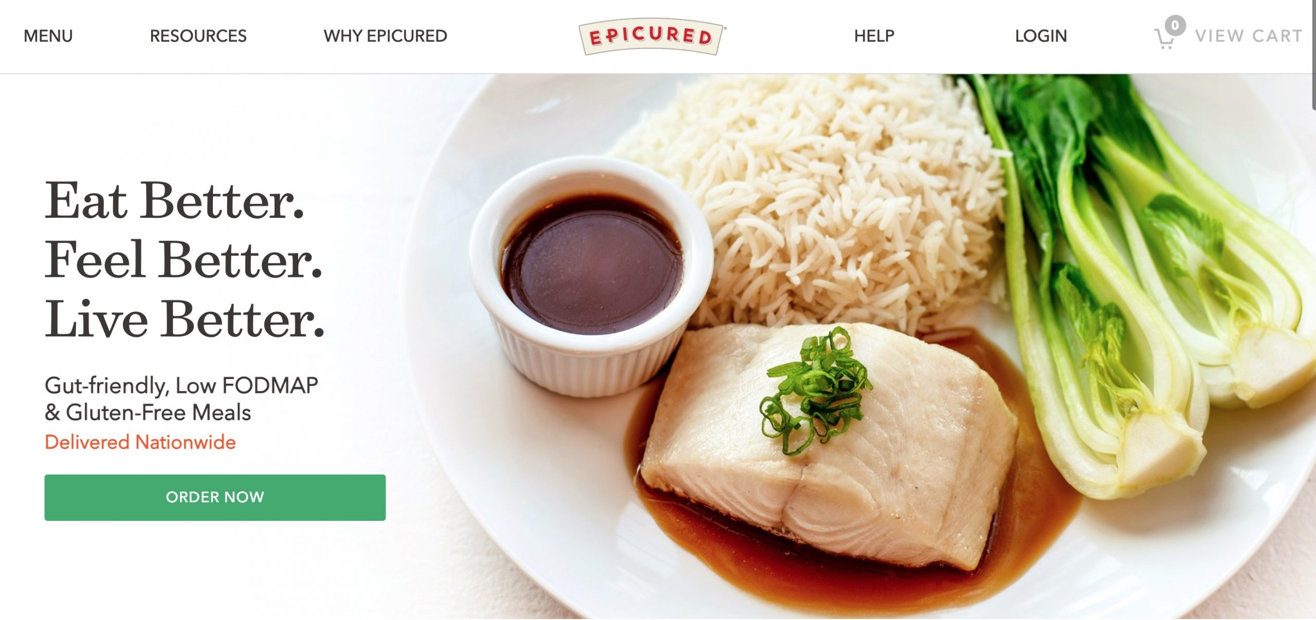 Epicured main page