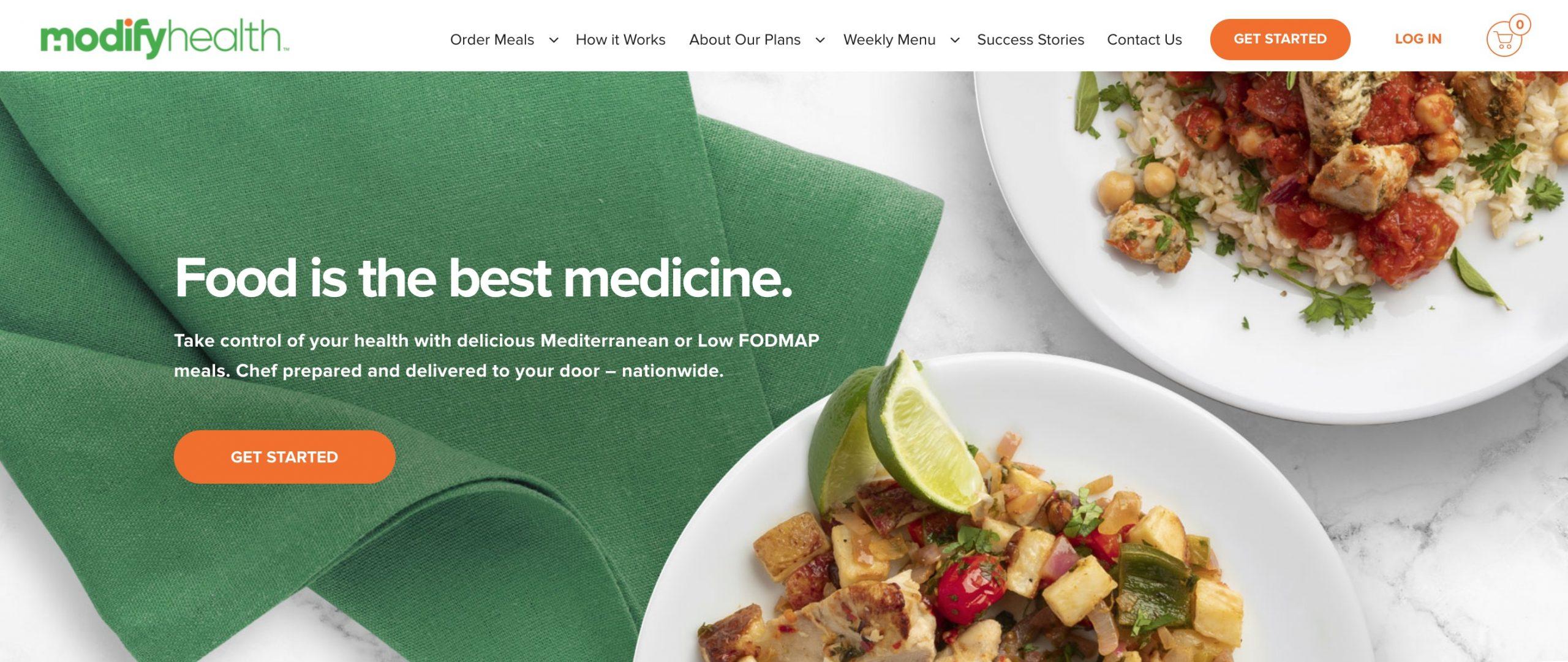 Modify Health main page