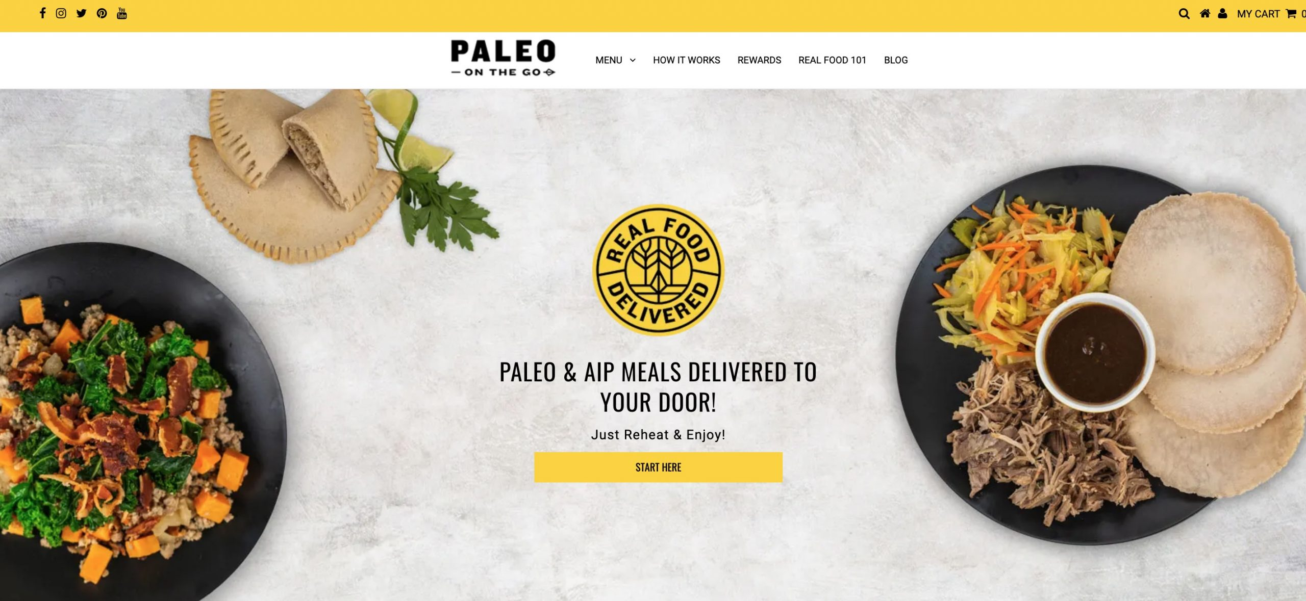 Paleo on the Go Short main page