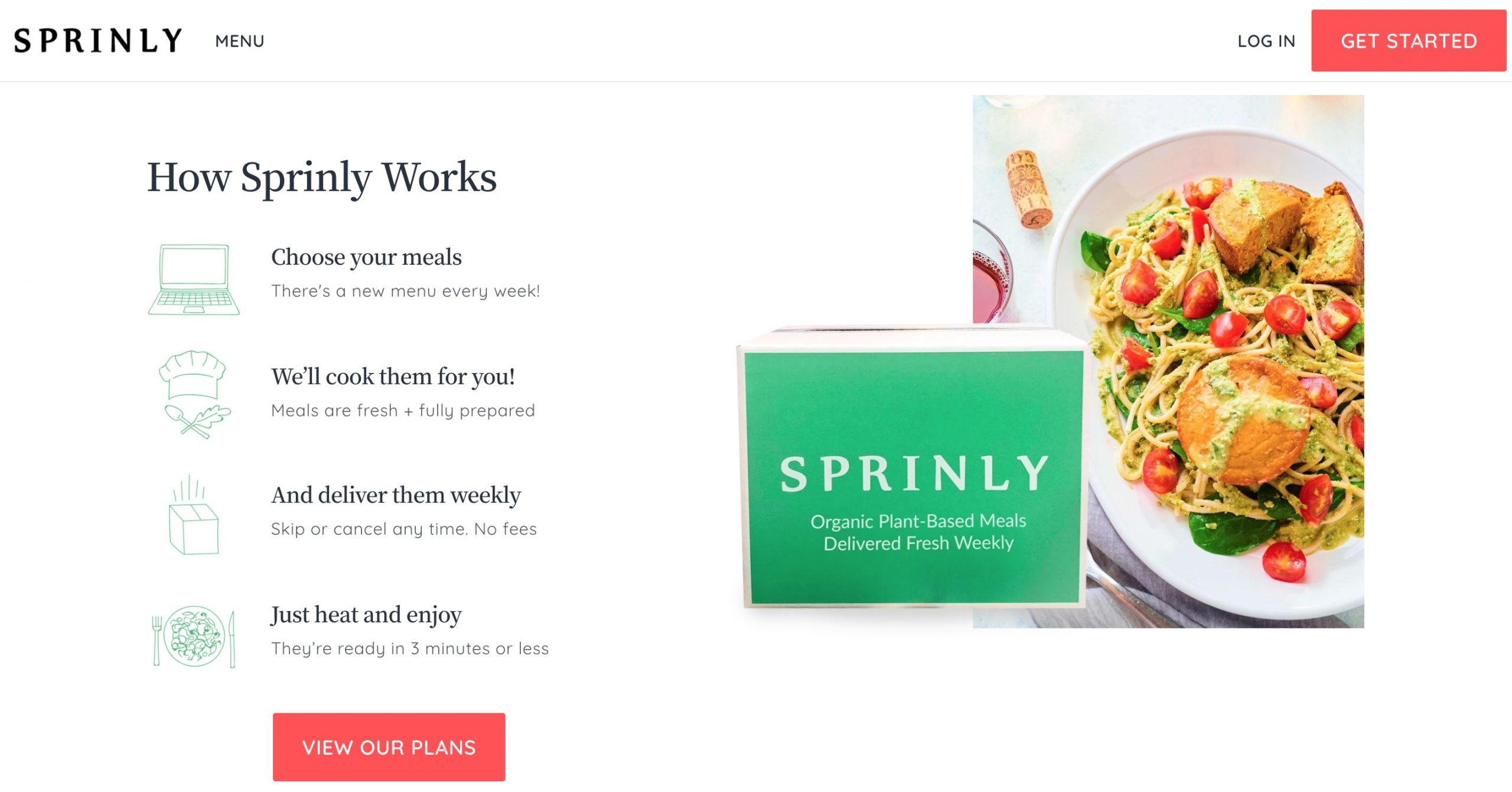 Sprinly how it works