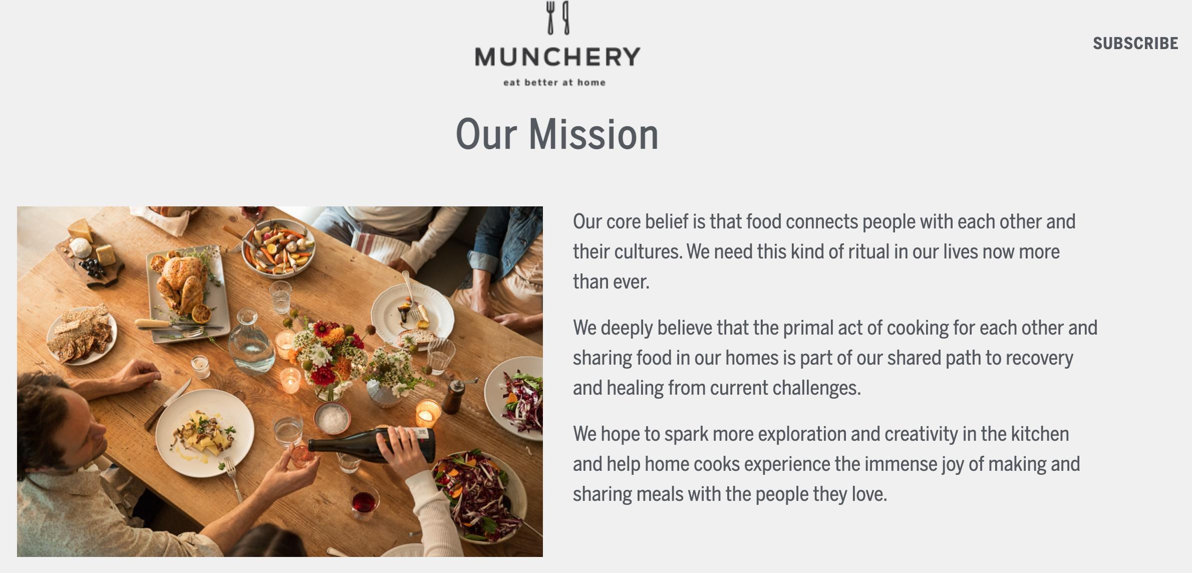 munchery mission