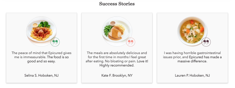Epicured success stories